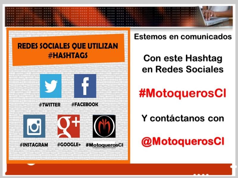 Hashtag #MotoquerosCl