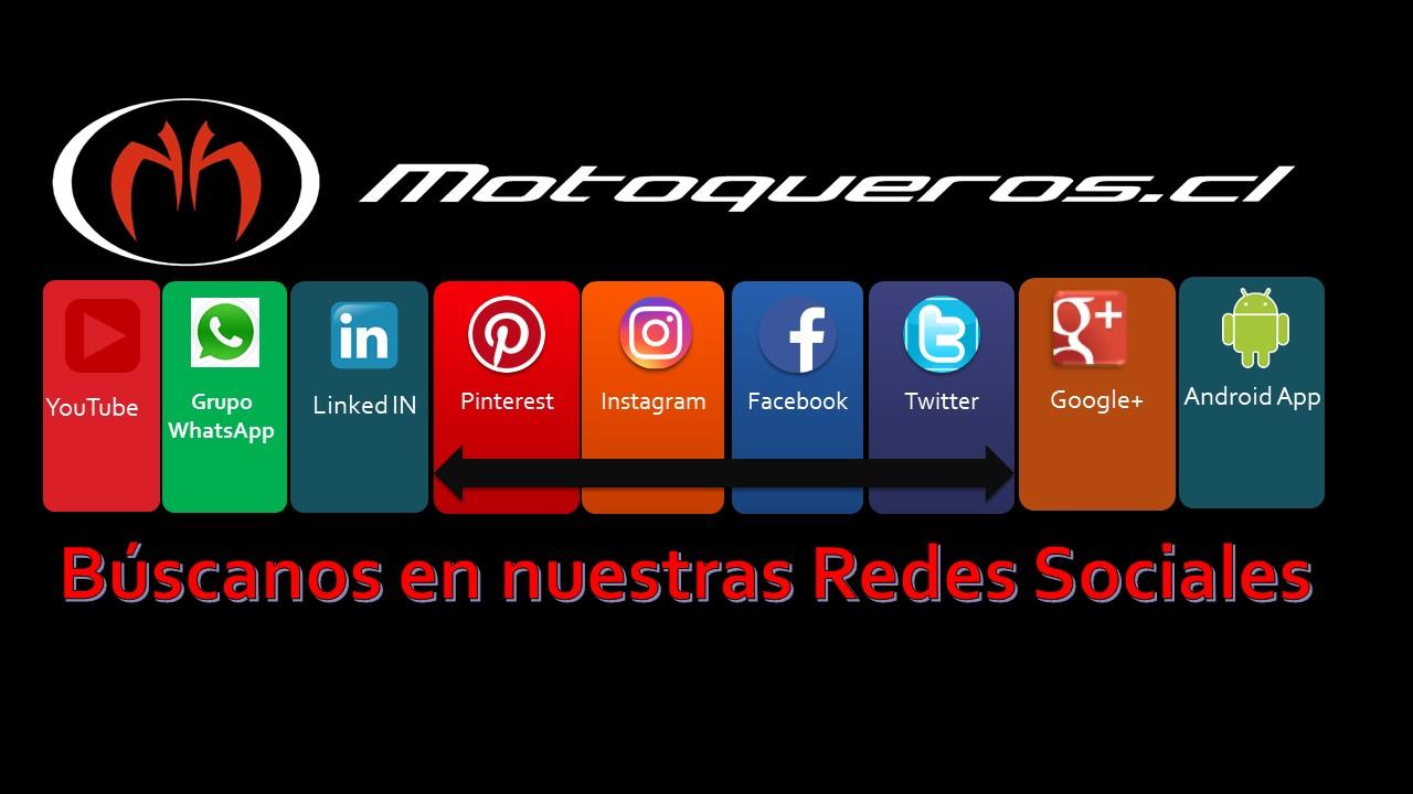 Contacto Motoqueros.Cl en la Red Social que estes!
